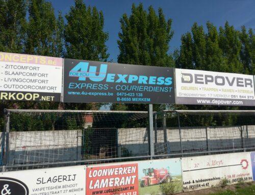 Steun als sponsor voor Merkem Sport